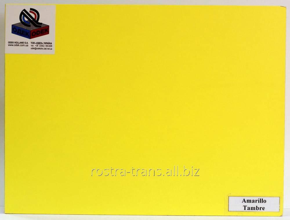Фанера цветная декоративная ODEK-Yellow
