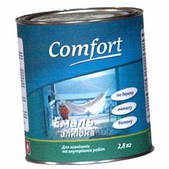 Купить Эмаль алкидная Comfort ПФ-115 2,8 кг синяя