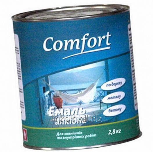 Купить Эмаль алкидная Comfort ПФ-115 2,8 кг ярко-голубая