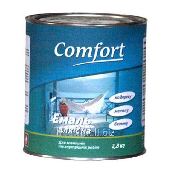 Купить Эмаль алкидная Comfort ПФ-115 50 кг изумрудная