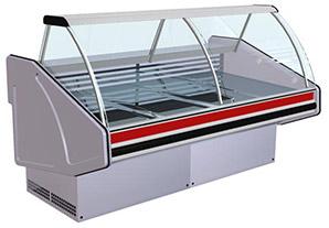 Витрина холодильная класс люкс Лира