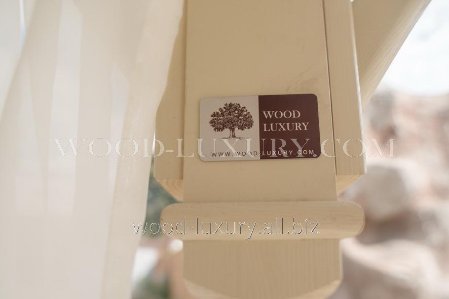 Шторы для офиса Wood Luxury