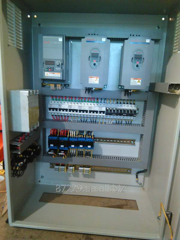 Шкаф управления асинхронным электродвигателем