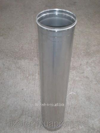 Труба дымохода нержавеющая одностенная 110 мм