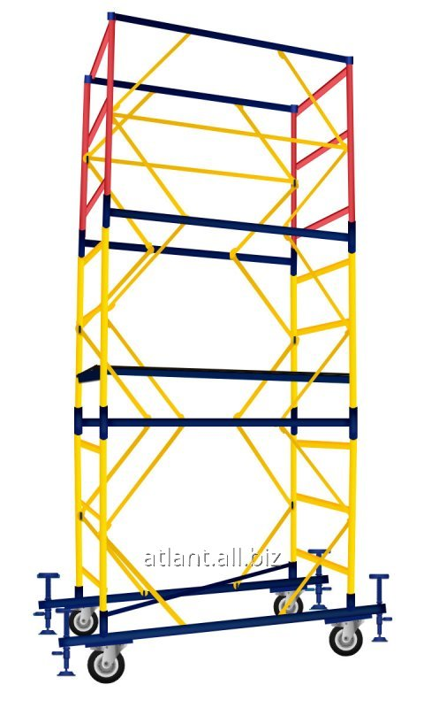Вышка тура с площадкой размером 1,2х2 метра (5+1)