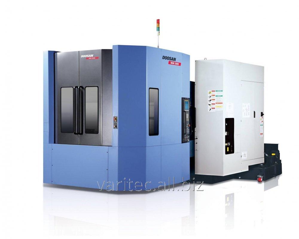 Купить Горизонтальные обрабатывающие центры повышенной жесткости с ЧПУ NHM 5000 / 6300 / 8000
