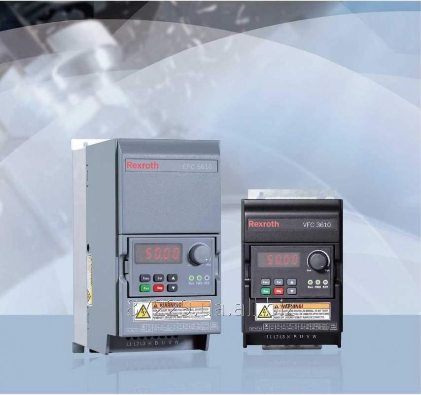 Частотные преобразователи 0.40 kW, 1 AC 200 - 240 V, 50/60 Hz, 2.3 A Rexroth Bosch Group VFC3610/5610