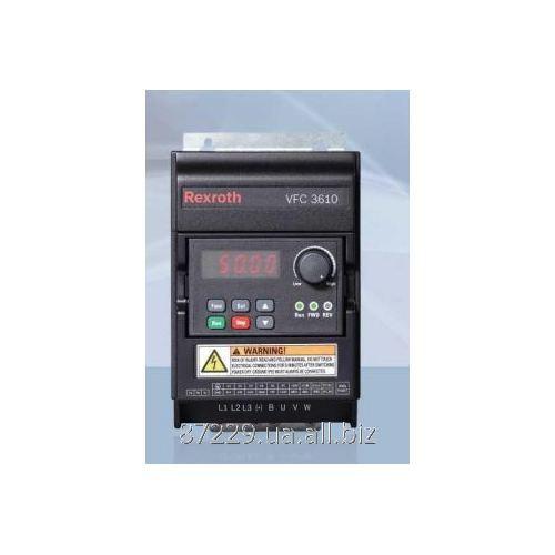 Частотные преобразователи  1.50 kW, 7.0 A 1 AC 200 - 240 V, 50/60 Rexroth Bosch Group VFC3610, R912005375, Hz,