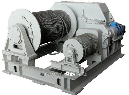 Electric winch shunting two-drum LEM-10
