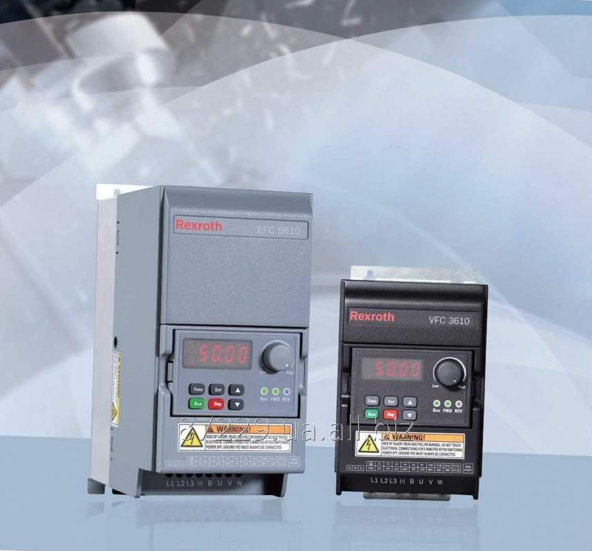 Частотные преобразователи  0.40 kW, 3 AC 380 - 480 V, 50/60 Hz, 1.2 A Rexroth Bosch Group VFC3610, R912005377,
