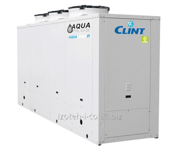 Купить Чиллеры и реверсивные тепловые насосы с водяным охлаждением конденсатора и вынесенными конденсаторами