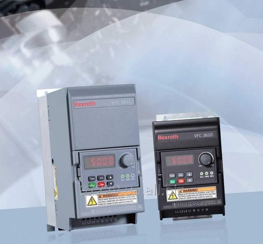 Частотные преобразователи 0.75 kW, 3 AC 380 - 480 V, 50/60 Hz, 2.1 A Rexroth Bosch Group VFC 5610 3AC, R912005389