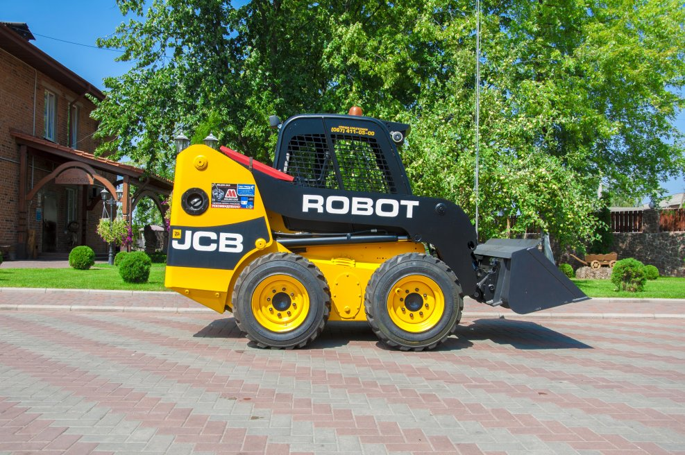 Купить Автопогрузчик мини фронтальный JCB Robot 160