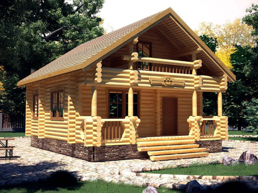 Купить Дома срубы деревянные от производителя в Узине