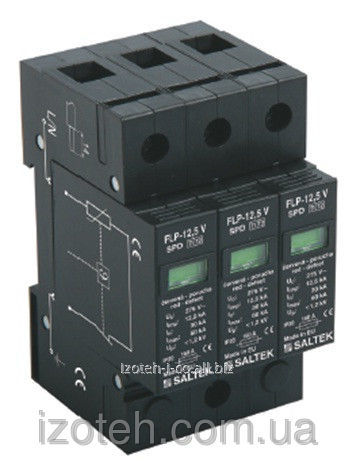 Buy The combined device of protection against pulse retension type and 1+2 FLP-12,5 V/3, FLP-12,5V/3S