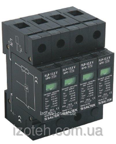 Комбинированное устройство защиты от импульсных перенапряжений тип а 1+2 FLP-12,5 V/4, FLP-12,5 V/4S