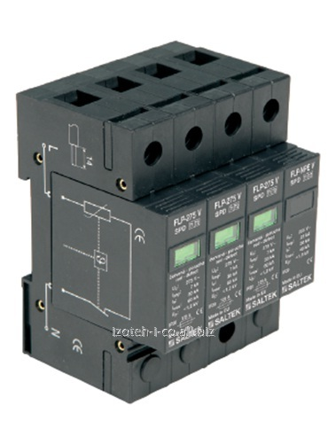 Buy The combined device of protection against pulse retension type and 1+2 FLP-275 V/3+1, FLP-275V/3S+1