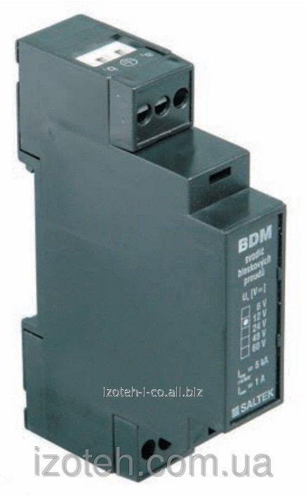 Отводчик тока молнии телекоммуникационных сетей и сигнализации BDM