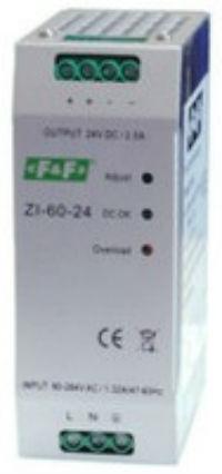Импульсный промышленный блок питания ZI-60-24
