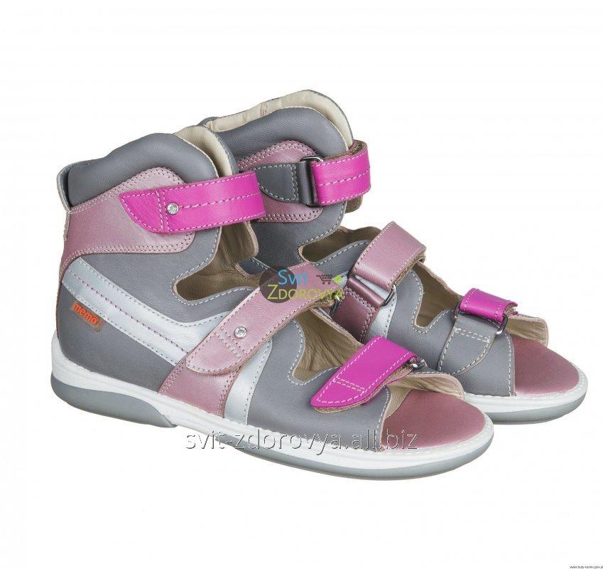 Купить Ортопедические сандалии для девочек Memo Iris 3JD