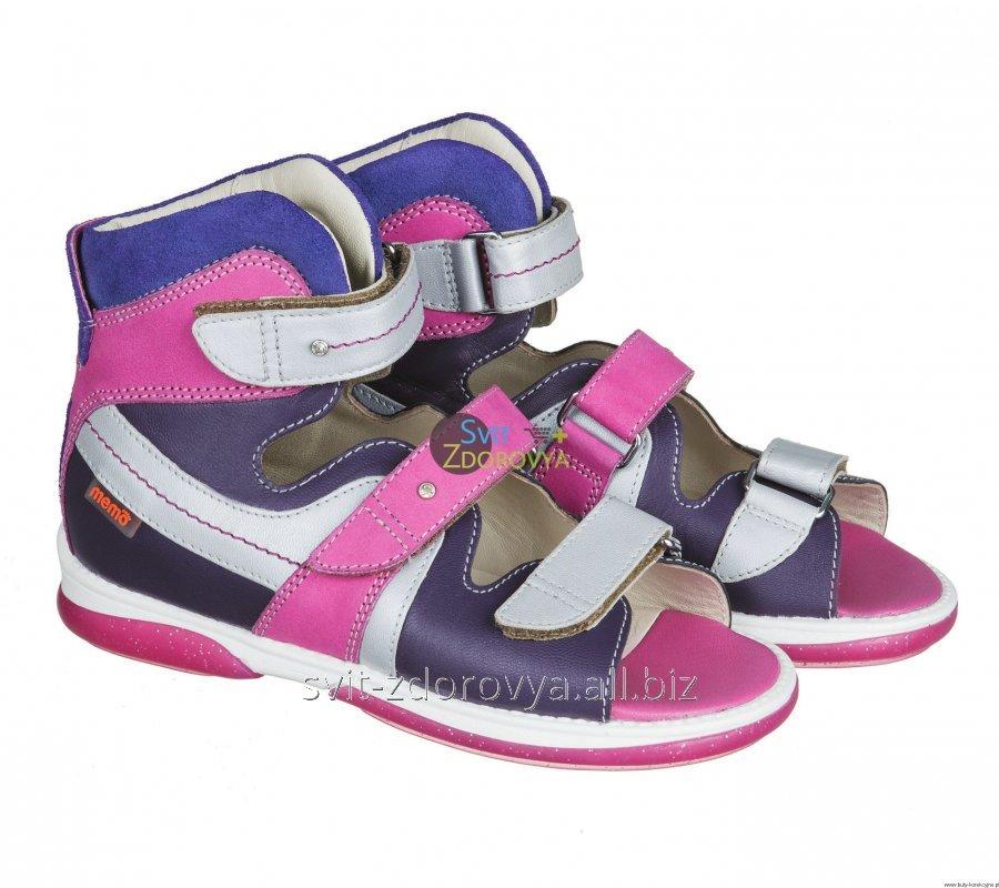 Купить Ортопедические сандалии для девочек Memo Iris 3NA