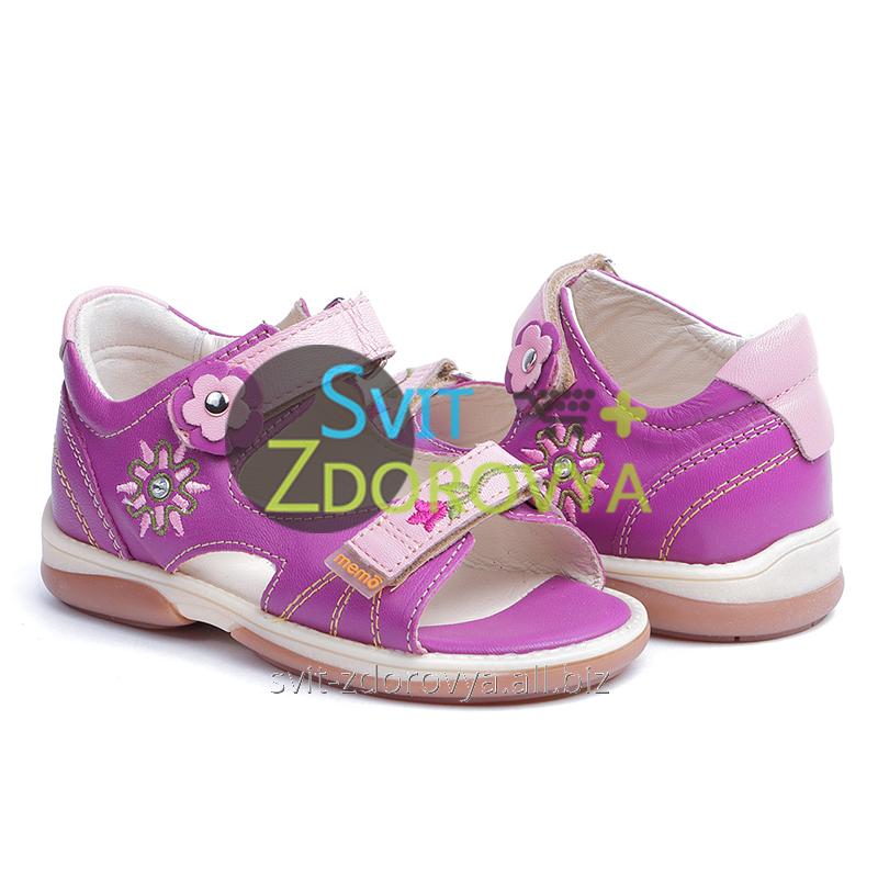 Купить Ортопедические сандалии для девочек Memo Jaspis 3JE