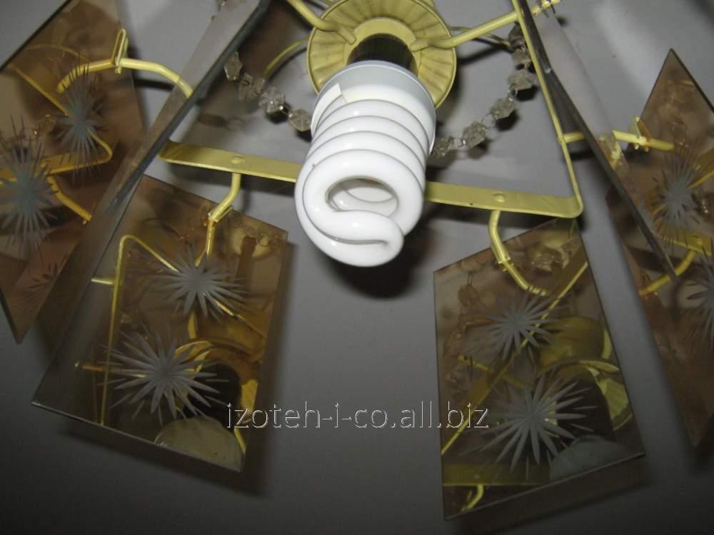 Лампа люминесцентная под вкручивающейся патрон