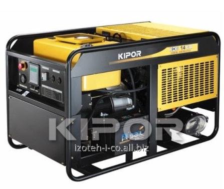 Дизельный генератор (электростанция), однофазный KDA14ЕAO