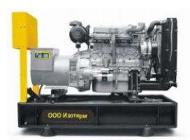 Дизельный генератор (электростанция) INTER, 94 кВА