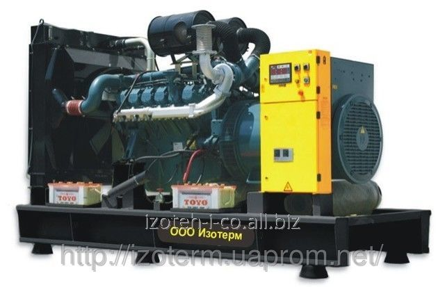 Дизельный генератор (электростанция) DOOSAN DAEWOO, 775 кВА