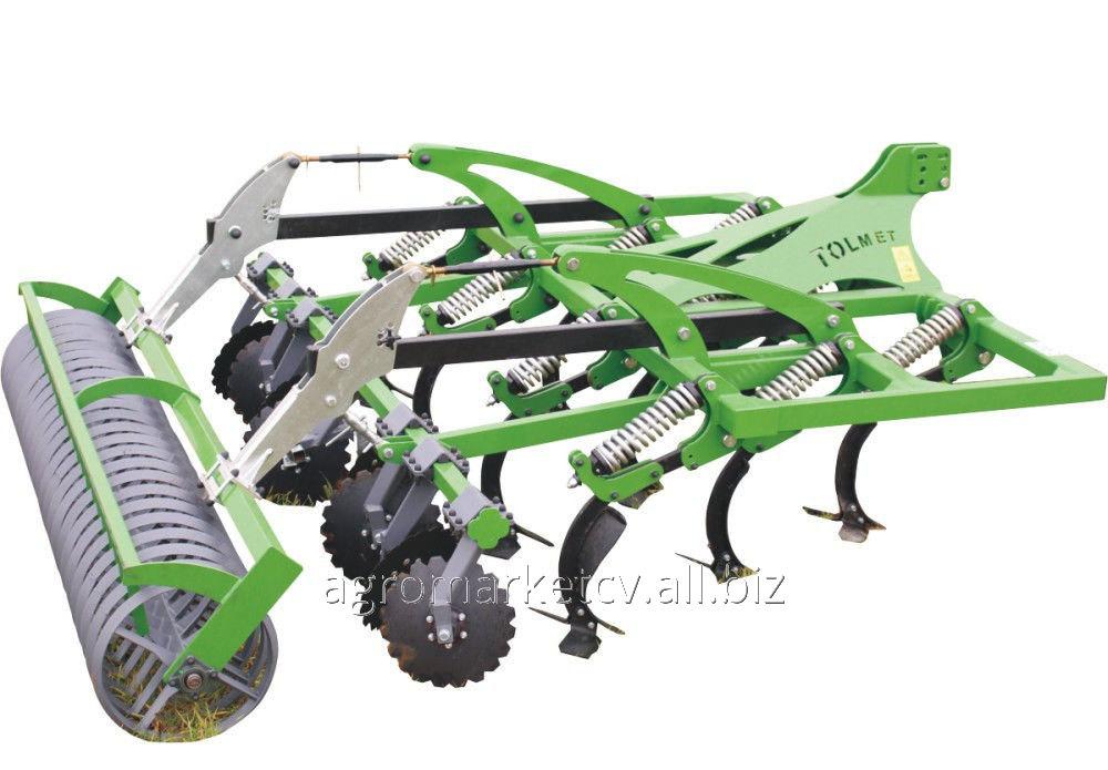 Купить Агрегат KRET, система HORSCH для обробітку ґрунту без плуга 2,4 - 5 м. TOLMET (PL)