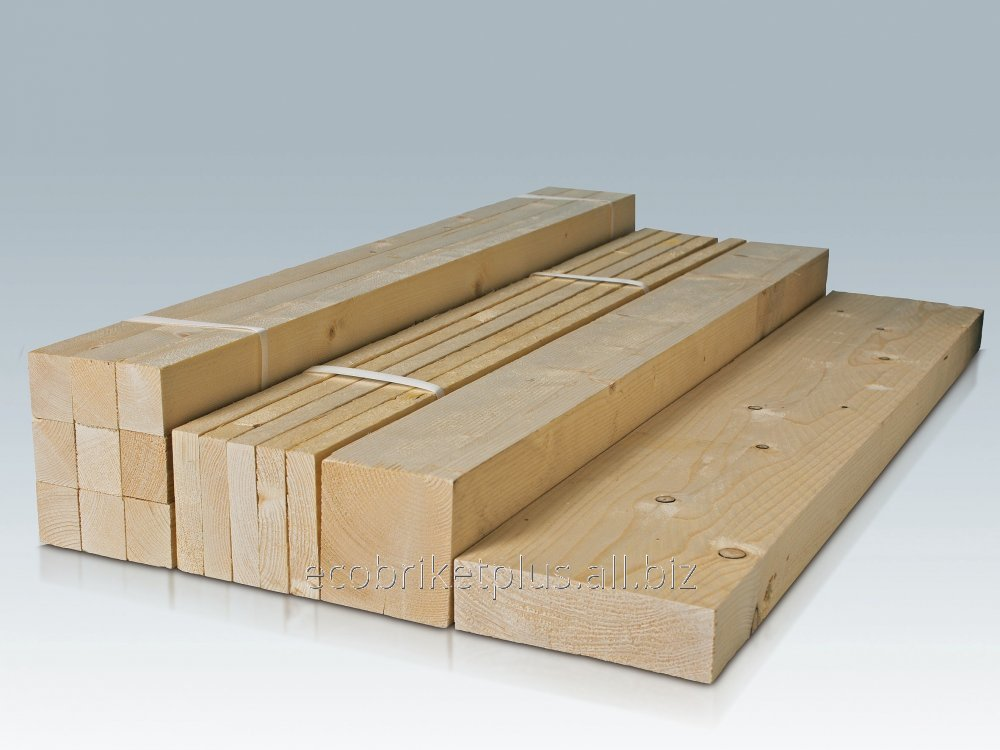 Buy Edged sawn timbers for export from Ukraine