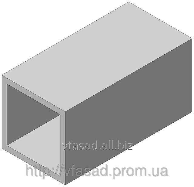 Труба квадратная алюминиевая 25*25*1,5 мм