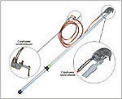 Заземление переносное ЗПТ для грозозащитного троса ВЛ 110-1150 кВ