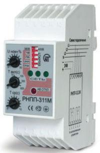 Реле напряжения и контроля фаз трехфазное РНПП-311M