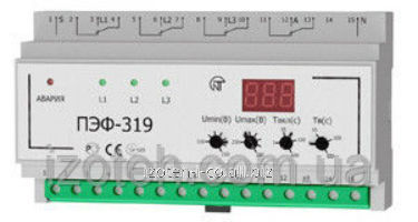 Switch of the phases PEF-319 electronic