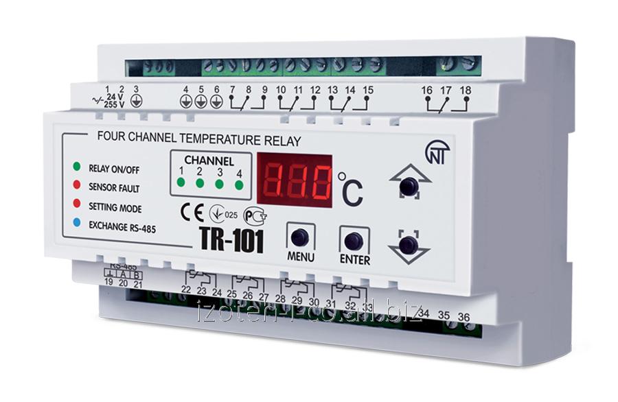 Digital temperature TR-101 relay