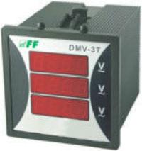 Купить Цифровой индикатор напряжения DMV-3T