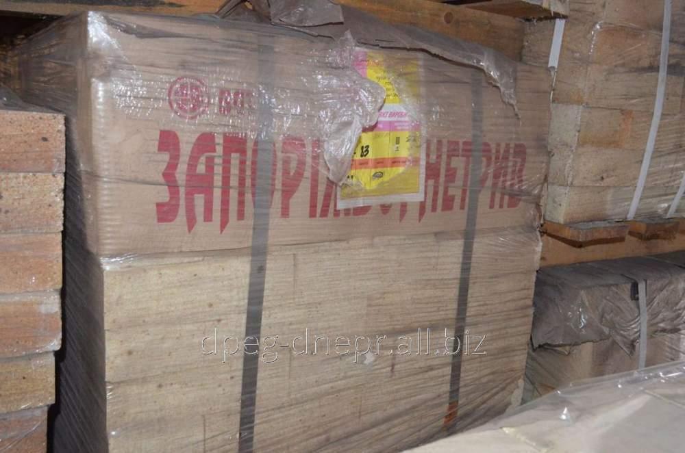Купить Кирпич муллитокорундовый МКС-72 25, 4,7 кг ГОСТ 8691-73