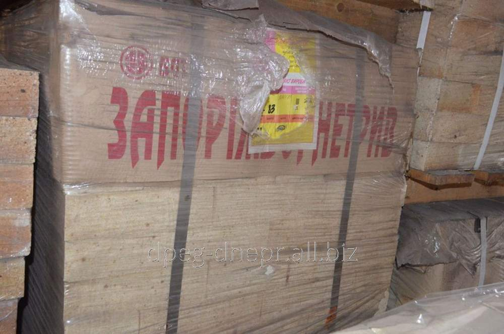 Купить Кирпич муллитокорундовый МКС-72 27, 2,9 кг ГОСТ 8691-73