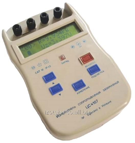 Купить Измеритель сопротивления заземления ЦС4107 с цифровым отсчетом