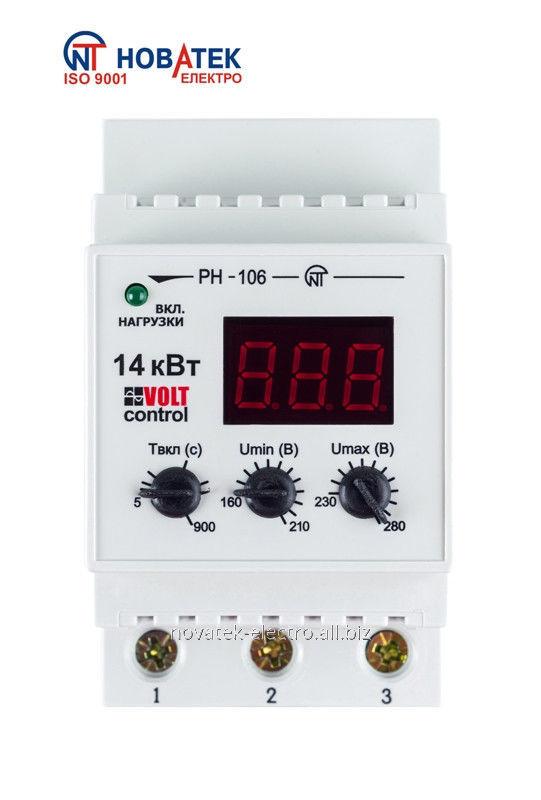 Однофазное реле РН-106 «Volt control»