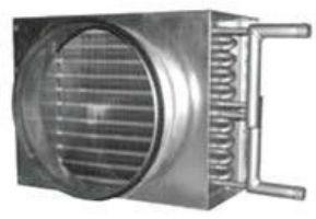 Водяной нагреватель для круглых каналов RWH