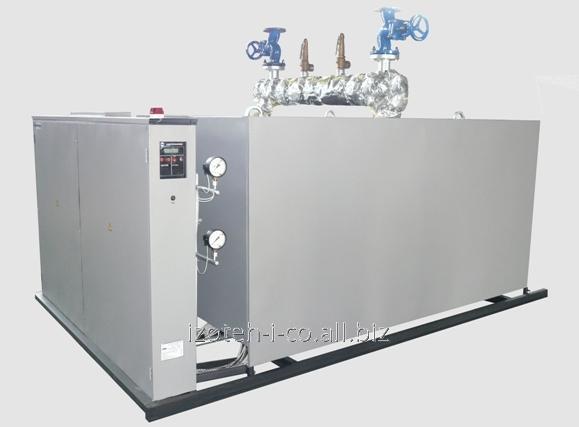 Electrosteam generator of 600 kW