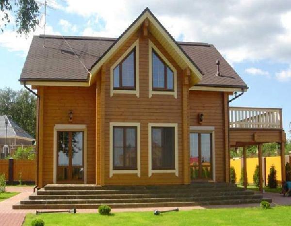 Дома из клееного бруса в Украине