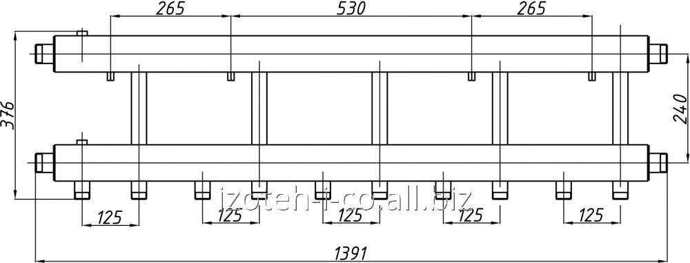 Коллектор для котельной СК-562.125