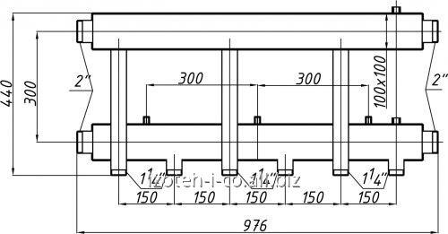 Коллектор для котельной СК-363.150