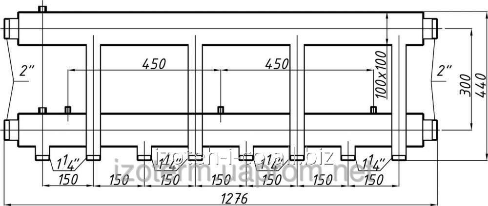 Коллектор для котельной СК-463.150