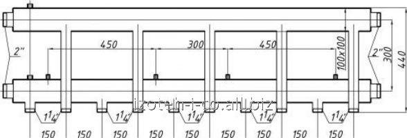 Купить Коллектор для котельной СК-563.150