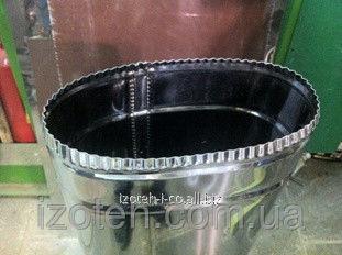 Овальный дымоход для гильзовки для имеющихся кирпичных дымоходов из нержавеющей стали